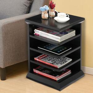 Image Is Loading Magazine Rack End Table Sofa Modern Book Living