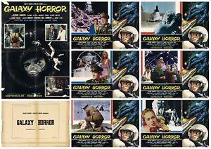 GALAXY HORROR SET FOTOBUSTE 6+SOGG. SCI-FI 1969 THE BODY STEALERS LOBBY CARD
