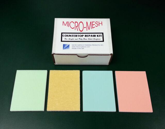 Micro Mesh Corian Countertop Repair Kit