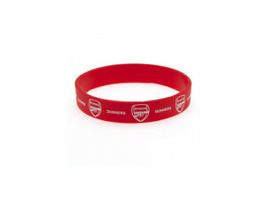 Arsenal Fc Gunners Football Club Bracelet Bracelet Gummy Caoutchouc Badge Offici