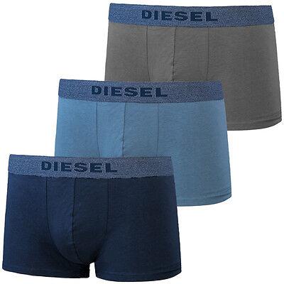 Diesel UMBX-SHAWN 3er Pack Boxershorts blue grey Boxer Short 00SAB2-0AAMU-03