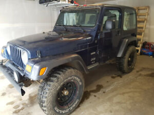 2004 Jeep TJ Sport SUV, Crossover