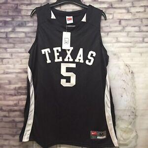 online store 64c92 fd084 Details about NWT NIKE Womens Texas Longhorns #5 Basketball Jersey Black  Size M Medium (8-10)