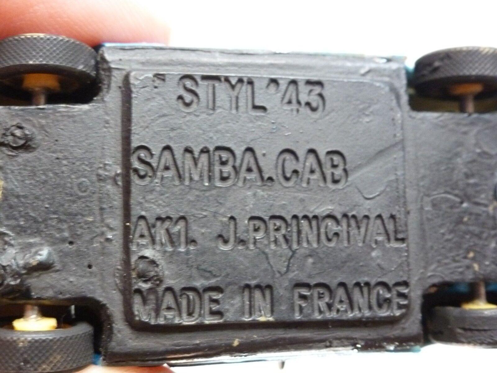 STYL STYL STYL 43 TALBOT SAMBA CABRIO - blueE 1 43 - EXCELLENT - 3 da72d7