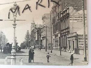 ANTIQUE-VINTAGE-PHOTO-POSTCARD-OLD-ST-GEORGES-TCE-PERTH-WESTERN-AUSTRALIA-WA-WA