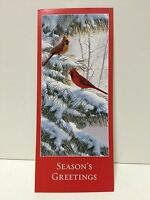 Wwf Assorted Cardinal Holiday Cards And Envelopes Set Of 6