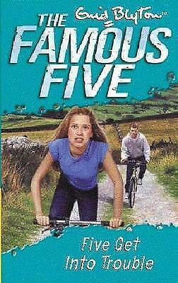 1 of 1 - Five Get into Trouble by Enid Blyton (Paperback)