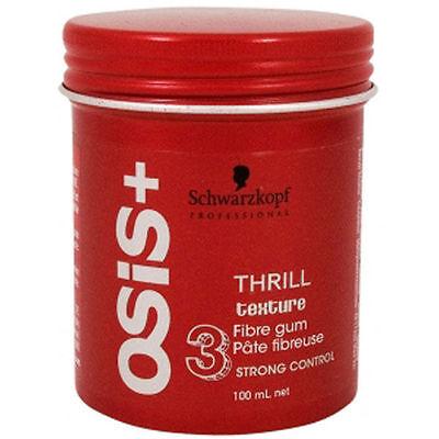 ~Schwarzkopf OSIS + THRILL texture Fibre gum 3 STRONG CONTROL 100ml~