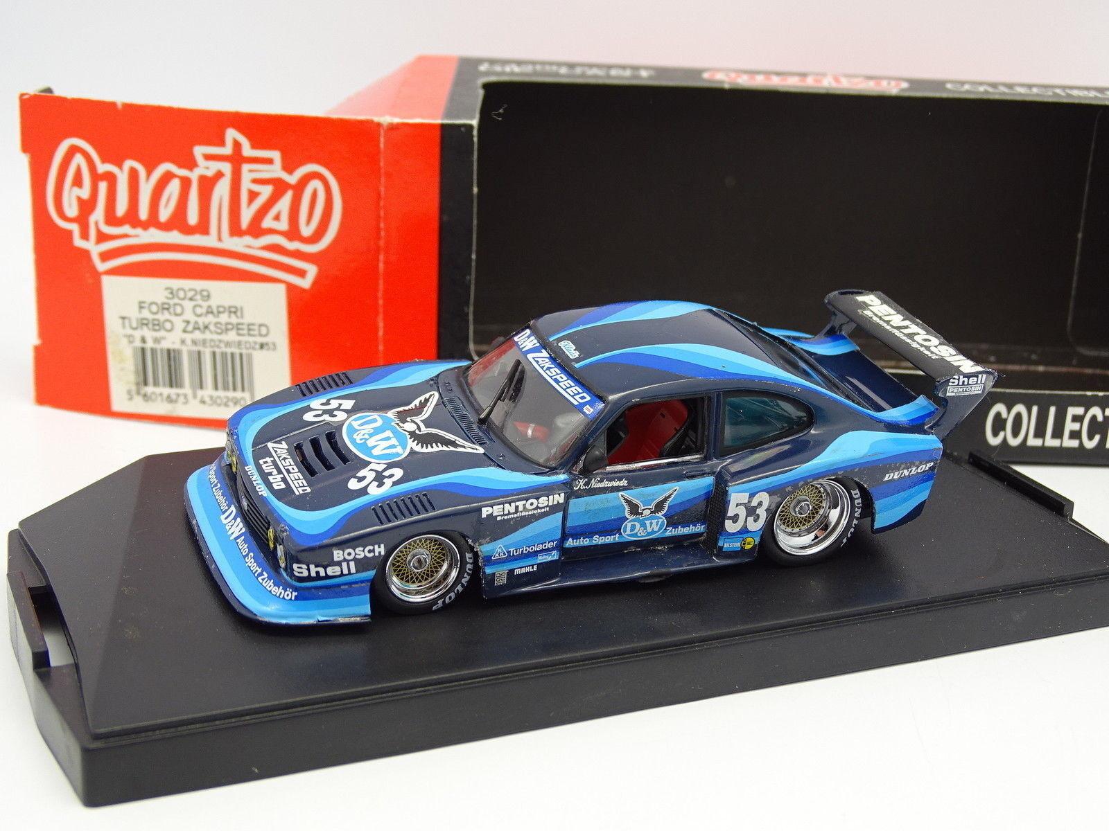 Quartzo 1 43 - Ford Capri Turbo Zakspeed D&W Drm 1980