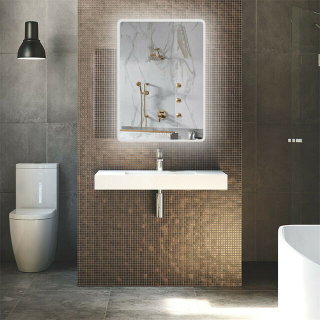 Neutype Large Led Mirrors Wall Mounted Bathroom Mirrors Dimmable Lighting For Sale Online Ebay