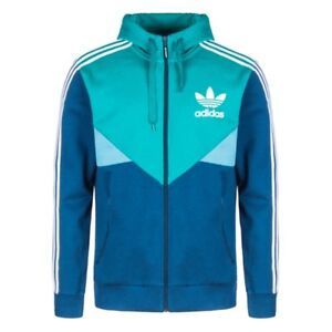 Capable Adidas Originals Adidas Trefoil Stripe Blue Track Top Sizes Xs/s/m/l/xl Clothing, Shoes & Accessories