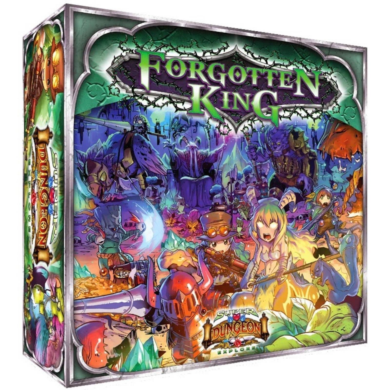 SUPER Dungeon Explore V2 dimenticata re  tavola gioco dtuttia Soda Pop Miniatures  autorizzazione