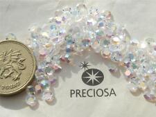 30 x Preciosa 16ss Crystal Titania (AB) unfoiled flatbacks