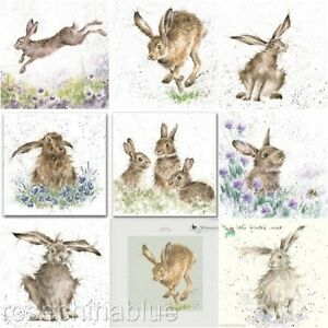 Wrendale Designs /'The Hare /& the Bee/' miniature card