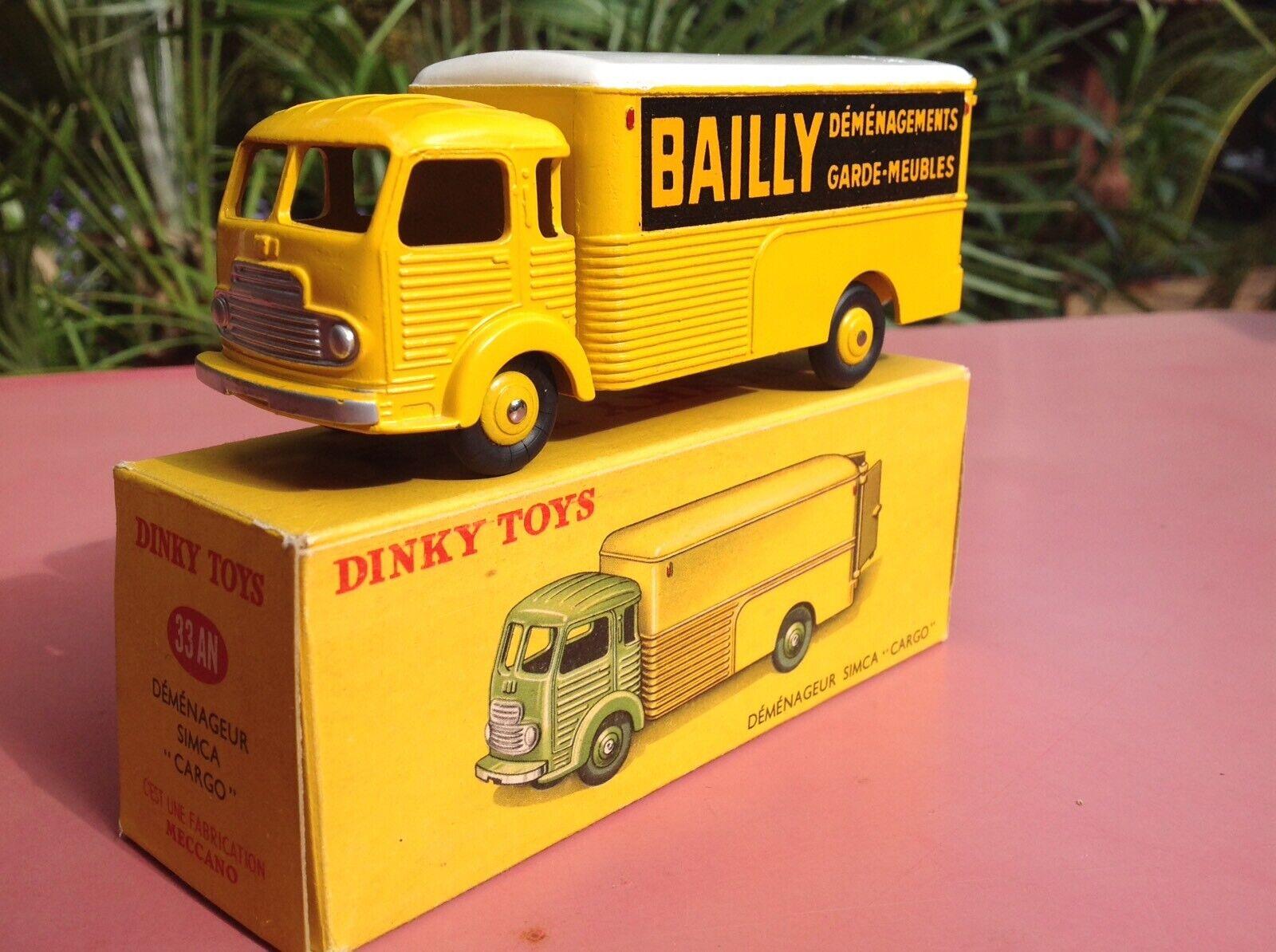 Dinky Toys Réf 33AN Simca Cargo Bailly Mint in box neuf en boite