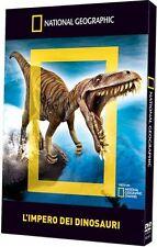 National Geographic L'Impero Dei Dinosauri Documentario Natura Libretto DVD