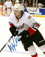 Abbotsford Heat Max Reinhart Autographed Signed 8x10 Photo COA