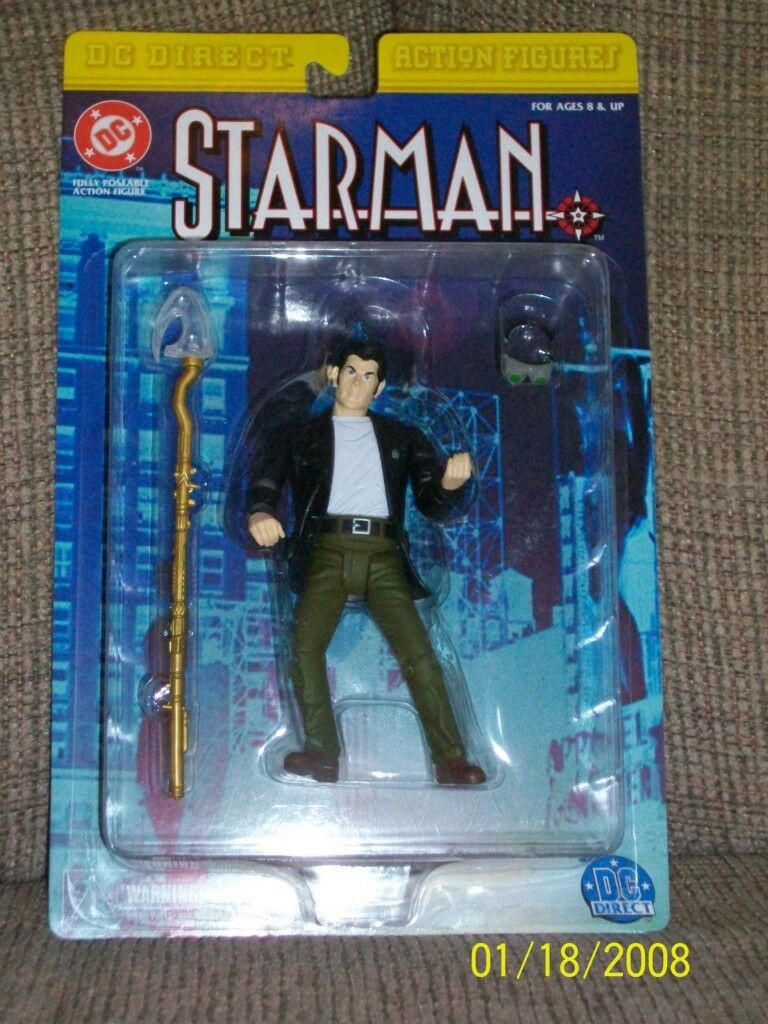 DC Direct Other Worlds-Starman, Phantom Stranger, Deadman, Hal Jordan Spectre +2