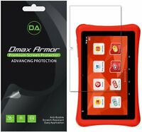 [3-pack] Dmax Armor Hd Clear Screen Protector For Nabi Hot Wheels Tablet