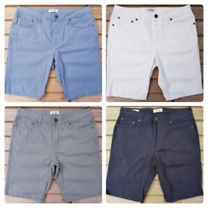 Men-s-New-JACK-amp-JONES-Cotton-Chino-Shorts-Size-30-034-to-38-034-in-14-Colours