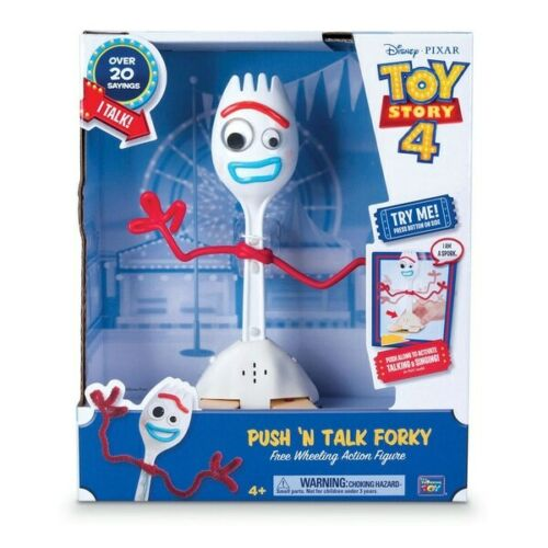 """Toy story 4 Push /""""Talk forky Roue Libre 22 cm ACTION FIGURE NEW"""