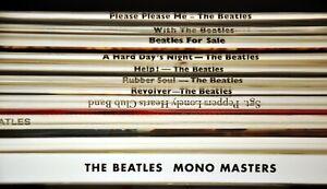 The BEATLES No BOX Set Orig. 2014 GERMAN 180G MONO Vinyl Records x14 + Book NEW!