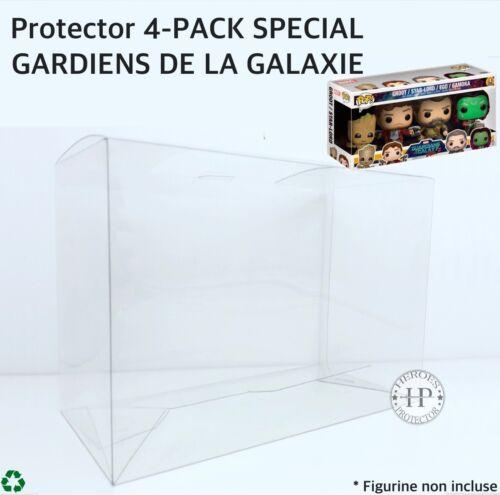 POP PROTECTOR 4-PACK FUNKO POP GARDIENS DE LA GALAXIE PROTECTION Vinyl Box Case