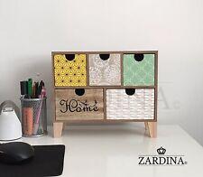 Iona - Mini 5 Drawers Storage Cabinet