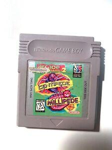 Arcade Classic No. 2 Centipede Millipede Original Nintendo Gameboy Game Tested!