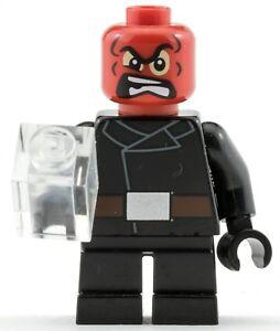 Genuine-LEGO-MARVEL-SUPER-HEROES-TESCHIO-ROSSO-pupazzetto-da-76065-Mighty-MICROS