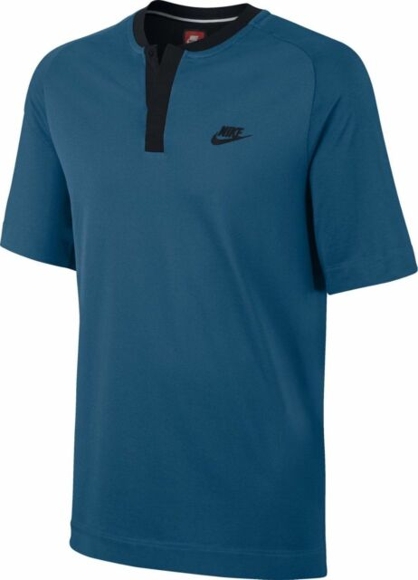 f0321bb7 Nike Men's Sportswear Bonded Teal / Black Polo Shirt (846871-457) Size M
