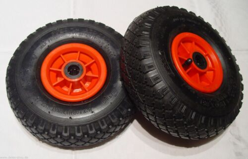 2-mal Rad 260 x 85 al 25 mm 3.00-4 4pr gallerie profilo CARRELLO PORTAPACCHI ruota di scorta