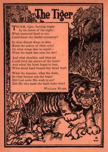 Details About 1915 F Childs Magazine Illustrations William Blake Poems George Carlson Art