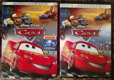 Cars Dvd 2006 Widescreen W Slipcover Walt Disney Pixar 786936271898 Ebay