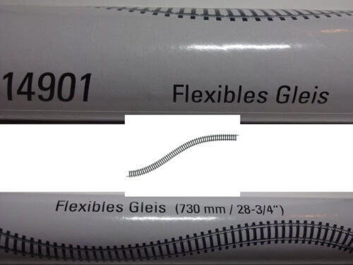Trix 14901 Minitrix FLEXGLEIS 730mm binario flessibile N nuovo