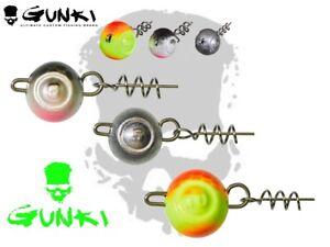 Gunki-Flexi-Cheburashka-3Pcs-Rosca-Plantilla-Cabezas-G-039-Flip-Pesca-Senuelo-Gota