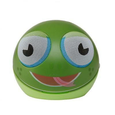 Zoo-Tunes MCS10 Freddy-the-Frog Compact Portable Character Stereo Speaker