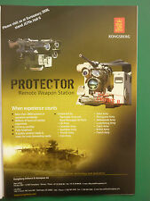 6/2008 PUB KONGSBERG DEFENCE AEROSPACE NORWAY PROTECTOR REMOTE WEAPON US ARMY AD