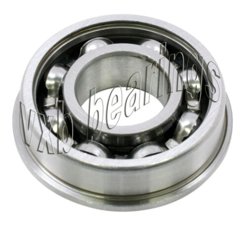 Flanged Bearing Stainless Steel Open 5x8x2 Miniature Ball Bearings 12298
