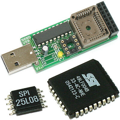 NANO USB Programmer for PC M/B BIOS repairing with Economic shipping.