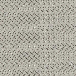 Image Is Loading Silver Sheen Diamond Plate Metal Tread Untextured Wallpaper