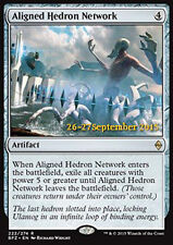 MTG ALIGNED HEDRON NETWORK FOIL - RETE DI EDRI ALLINEATI - PROMO - MAGIC