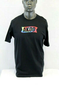 Akoo S//S EDEN T-SHIRT BLACK//MULTICOLOR 781-3217