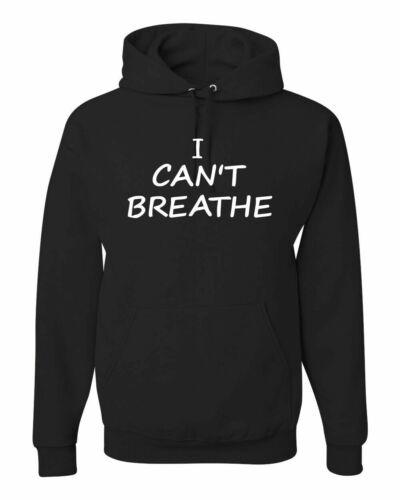 I Cant Breathe Choke Black Lives Matter Mens Sweatshirt Hoodie Protest S-2XL BLM