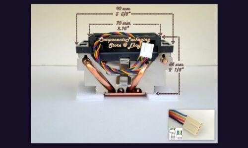 AMD Black Edition Phenom /& FX Heatsink CPU Cooler Fan for Socket 940 AM2 AM3 New