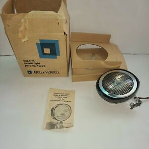 Bell & Howell Super 8 Movie Light Part No. 41999 Vintage Electronics Projector