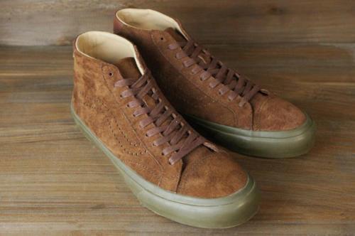 VANS MEN'S COURT MID DX TANNER CAPPUCCINO DARK GUM MEN'S VANS SKATE Schuhe Größe 7.5 f4fad1