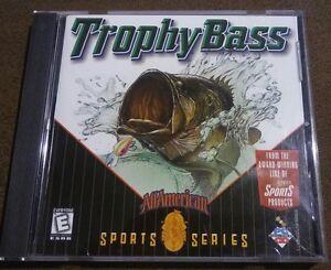 Trophy-Bass-All-American-Sports-Series-1998-Sierra-Sports-PC-CD-ROM-Fishing