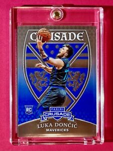 Luka Doncic ROOKIE PANINI CHRONICLES CRUSADE 2018-19 HOT MAVS RC INVEST - Mint!