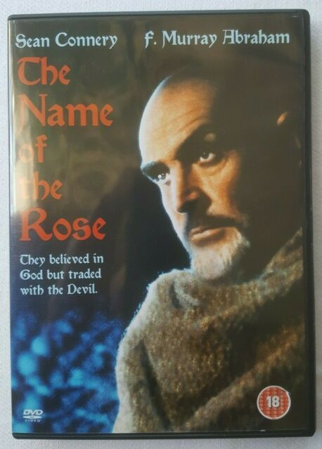 The Name of the Rose 1986 Starring Sean Connery 2004 UK Region 2 DVD Acceptable